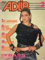 MADONNA Adlib (2/85) JAPAN Magazine