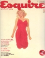 MARILYN MONROE Esquire (Autumn/87) JAPAN Magazine