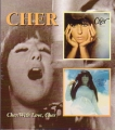 CHER Cher/With Love, Cher USA CD
