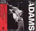 BRYAN ADAMS Live Live Live JAPAN CD