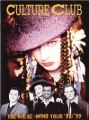 CULTURE CLUB The Big Re-Wind Tour 1998/99 USA Tour Program