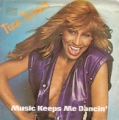 TINA TURNER Music Keeps Me Dancing SPAIN 7''