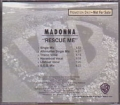MADONNA Rescue Me USA CD5 Promo w/6 Mixes