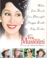 CHER Tea With Mussolini USA Promo Over-Sized Postcard