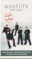WESTLIFE Coast To Coast CANADA VHS Video w/8 Live Songs and 5 Vi