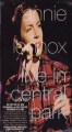 ANNIE LENNOX Live In Central Park USA VHS NTSC