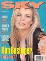 KIM BASINGER Sky Magazine (6/92) UK Magazine