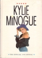 KYLIE MINOGUE The Official 1990 Annual UK Hardcover Book