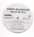 SARAH MCLACHLAN World On Fire USA 12