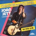 JOAN JETT & THE BLACKHEARTS Crimson And Clover FRANCE 7