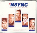 NSYNC UK CD5 I Want You Back with POSTER and BONUS TRACK!