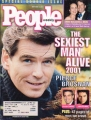 JAMES BOND 007 People (11/26/01) USA Magazine PIERCE BROSNAN