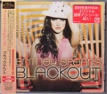 BRITNEY SPEARS Blackout JAPAN CD w/4 Bonus Tracks