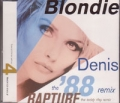 BLONDIE Denis `88 Remix UK CD5