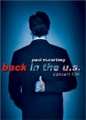 PAUL McCARTNEY Back In The U.S. Live 2002 USA DVD