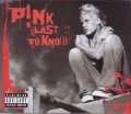 PINK Last To Know UK CD5