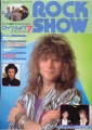 BON JOVI Rock Show (7/85) JAPAN Magazine
