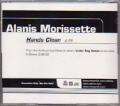 ALANIS MORISSETTE Hands Clean USA CD5 Promo w/1 Track