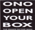 YOKO ONO Open Your Box UK CD5 w/3 Mixes