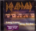DEF LEPPARD Long Long Way To Go UK DVD Single