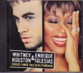 WHITNEY HOUSTON & ENRIQUE IGLESIAS Could I Have This Kiss Forever USA CD5 Promo