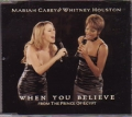 MARIAH CAREY & WHITNEY HOUSTON When You Believe AUSTRALIA CD5