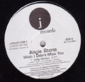 ANGIE STONE Wish I Didn't Miss You USA 12''