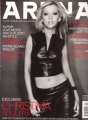 CHRISTINA AGUILERA Arena (Jan-Feb/2000) UK Magazine