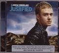 JUSTIN TIMBERLAKE Justified AUSTRALIA CD w/Bonus Track & Poster