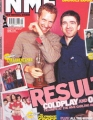COLDPLAY NME (2/22/03) UK Magazine