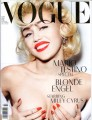 MILEY CYRUS Vogue (3/14) GERMANY Magazine (C)