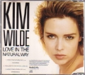 KIM WILDE Love In The Natural Way UK CD5 Picture Disc