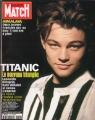 LEONARDO DiCAPRIO Paris Match (10/29/98) FRANCE Magazine
