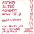 ARTISTS UNITED AGAINST APARTHEID Silver And Gold SPAIN 7