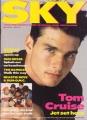 TOM CRUISE Sky (7/2-15/88) UK Magazine