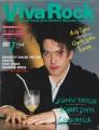 THE CURE Viva Rock (7/87) JAPAN Magazine