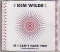 KIM WILDE If I Can't Have You JAPAN CD5 Promo Only