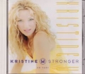 KRISTINE W Stronger USA CD5 w/4 Tracks