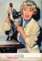 HAYLEY MILLS That Darn Cat JAPAN Movie Program Osaka Version
