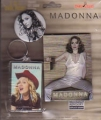 MADONNA 3 In 1 Cool Pack USA Set of Magnet/Key Chain/Button