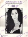 CHER Just Like Jesse James USA Sheet Music