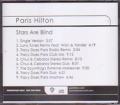 PARIS HILTON Stars Are Blind USA CD5 Promo w/9 Mixes