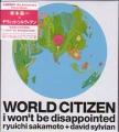DAVID SYLVIAN w/RYUICHI SAKAMOTO World Citizen JAPAN CD5