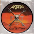 ANTHRAX Got The Time UK 7