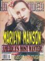 MARILYN MANSON Hit Parader (8/98) USA Magazine