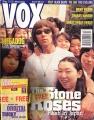 STONE ROSES Vox (12/95) UK Magazine w/Cassette Tape