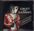 JOAN JETT & THE BLACKHEARTS Unvarnished USA CD Advance Copy