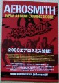 AEROSMITH 2004 JAPAN Promo Advance Flyer