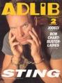 STING Adlib (2/94) JAPAN Magazine