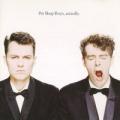 PET SHOP BOYS Actually UK 2CD Reissue Remastered CD w/Bonus Disc